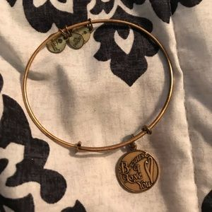 Because I Love You Alex and Ani bracelet